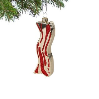 Bacon Christmas Tree Ornament Decoration