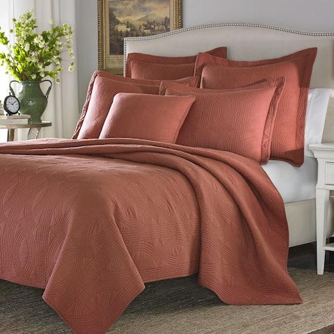 Stone Cottage Arbor Cayenne Cotton 3-piece Quilt Set