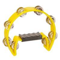 Crescent 16-jingle Yellow Tambourine