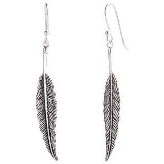 Handmade Sterling Silver Flight Foxtail Danling Style Earrings (Thailand)
