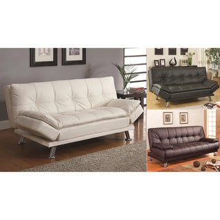 Michigan Sleeper Sofa Convertible Futon Sofa Bed with Removable Armrests
