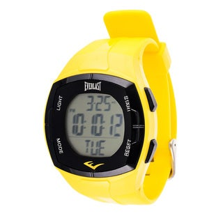 Everlast Men's HR2 Heart Rate Monitor Digital Sport Watch with Chest Strap