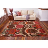Hand-Knotted Vera Nature Area Rug (5' x 8')