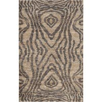 """Hand-Knotted Roth Abstract Area Rug - 3'3"""" x 5'3"""""""