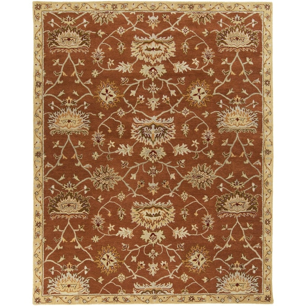 Hand-Tufted Rebecca Transitional Wool Area Rug (5' x 7'9)