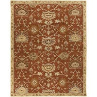 Hand-Tufted Rebecca Transitional Wool Area Rug - 5' x 7'9""
