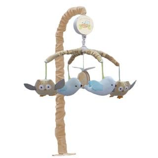 Nurture Imagination Nesting Owls Crib Mobile