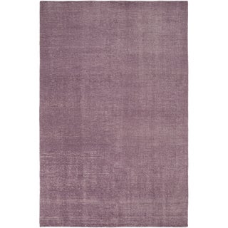 Hand-Knotted Natalya Solid Wool Area Rug