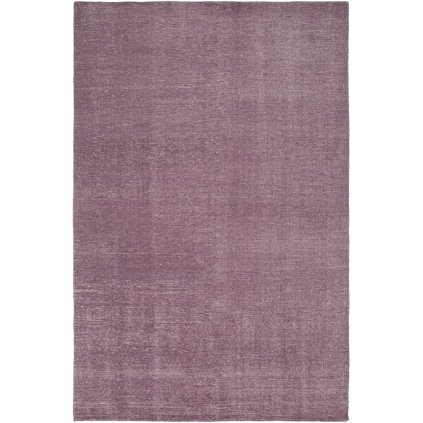 Hand-Knotted Natalya Solid Wool Rug (5'6 x 8'6)