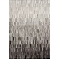Hand-Crafted Ricardo Stripe Hair On Hide Area Rug - 5' x 8'