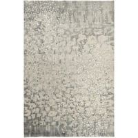 Hand-Knotted Giana Abstract Wool Area Rug - 5' x 8'