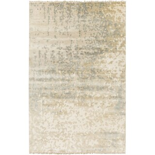 Hand-Knotted Gayle Abstract Wool Rug (5' x 8')