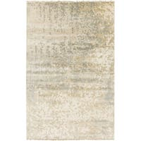 Hand-Knotted Gayle Abstract Wool Area Rug - 5' x 8'