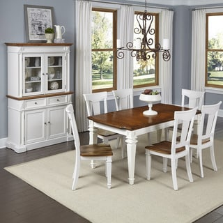Americana 7-piece Dining Set with Buffet and Hutch by Home Styles