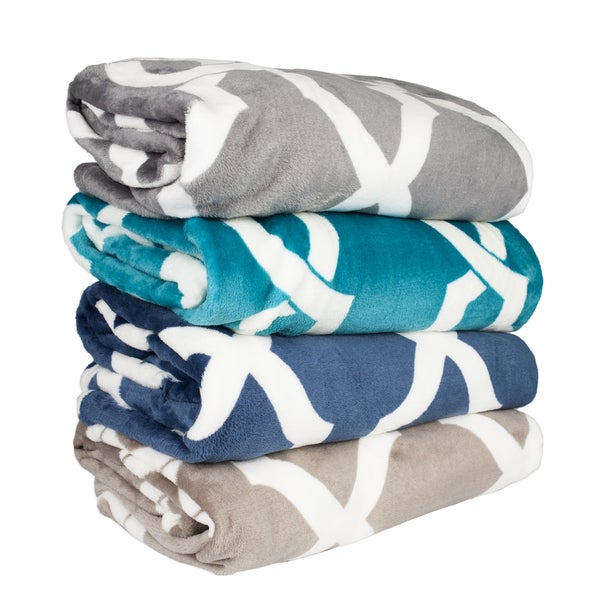 Shop Soft And Plush Printed Throw Blanket Ships To Canada Amazing Plush Throw Blanket Canada