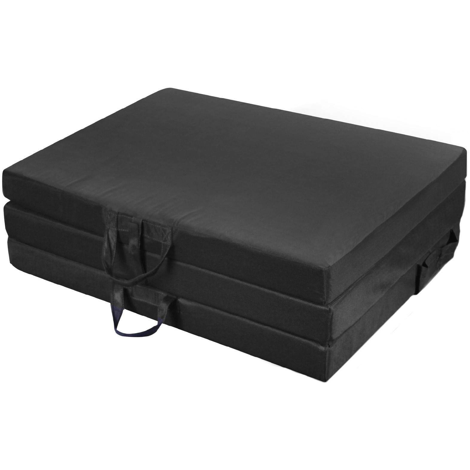 Jordan Manufacturing Twin Tri-Fold Mat (Black)