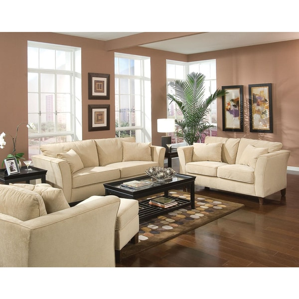 Park Ave 4-piece Living Room Set - Free Shipping Today - Overstock ...