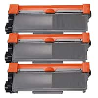 Brother Compatible TN660 TN630 High Yield Black Laser Toner Cartridge (3-pack)
