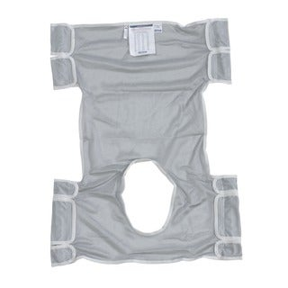 Drive Medical Dacron Patient Lift Sling with Commode Opening