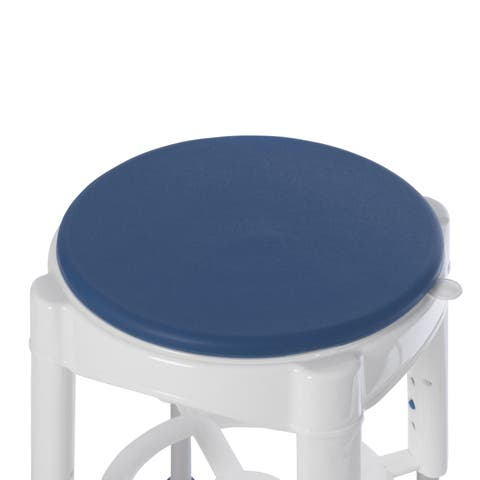 Drive Medical Bathroom Safety Swivel Seat Shower Stool - Blue