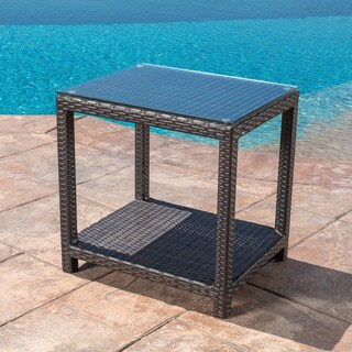 Abbyson Monty Outdoor End Table