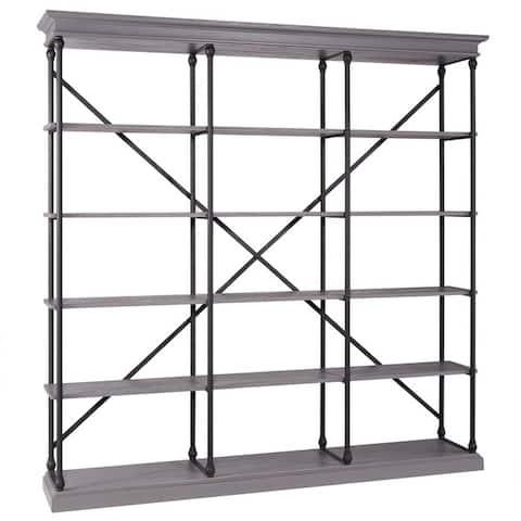 Barnstone Cornice Triple Shelving Bookcase by iNSPIRE Q Artisan