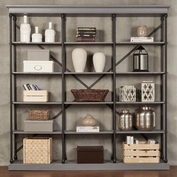 Barnstone Cornice Triple Shelving Bookcase by iNSPIRE Q Artisan ...