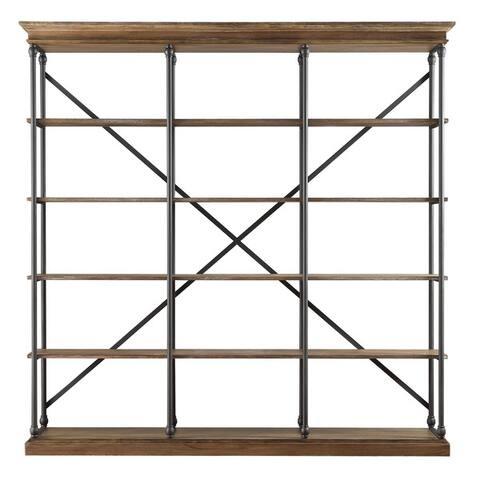 Barnstone Cornice Triple Shelving Bookcase by iNSPIRE Q Artisan - Large