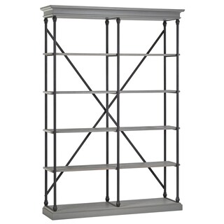 Barnstone Cornice Double Shelving Bookcase by iNSPIRE Q Artisan (2 options available)
