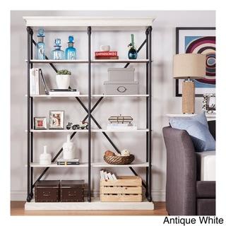 SIGNAL HILLS Barnstone Cornice Double Shelving Bookcase