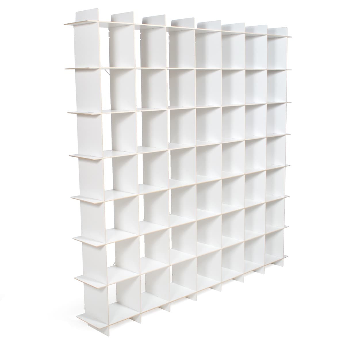 3 Sprouts Extra Large Modern Cube Storage Unit (White - G...