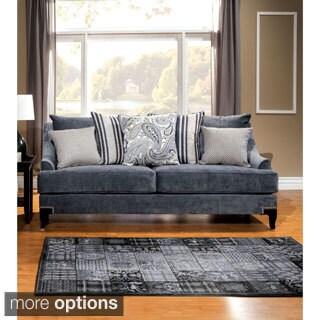 Furniture of America Janice Contemporary Premium Sofa