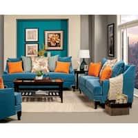 Furniture of America Estella 2-piece Sofa Set