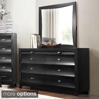 Shop Akeela Contemporary Black Or White 8 Drawer Dresser