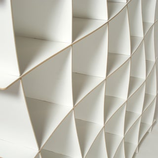 Wave Modern Bookcase