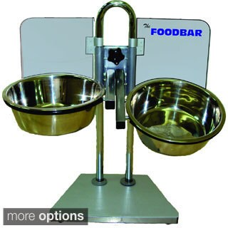 Foodbar Adjustable Pet Feeder with Bowls