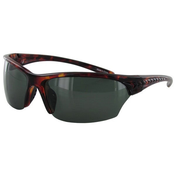 6f3a553e86 Shop Fila Men s SF013P Polarized Sunglasses - Red - Medium - Free ...