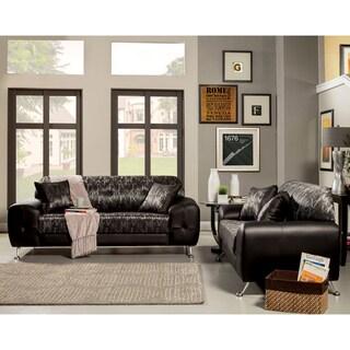 Furniture of America Mara Contemporary Two-tone Sofa