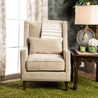 Furniture of America Emilla High Back Accent Chair