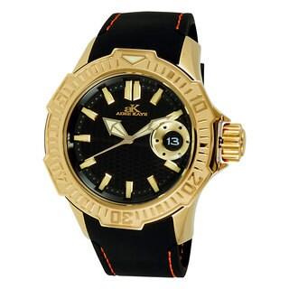 Adee Kaye Men's Grand Mond-G2 Goldtone Watch