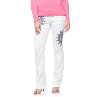 Andrew Charles Women's Vanilla Ice Mystic Jeans (Size 26)