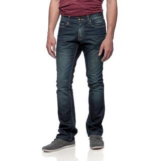 Riff Stars Men's Rolling Stones Indigo Union Jack Boots Jeans