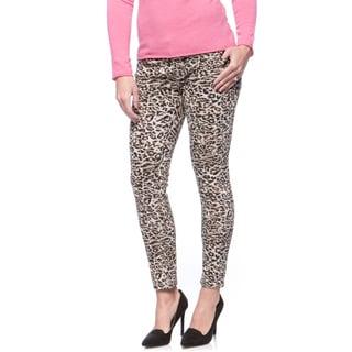 Andrew Charles Women's Animal Print Skinny Jeans Size 29