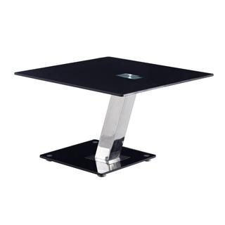 Modern Tempered Glass End Table