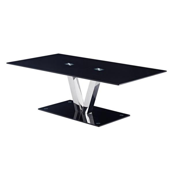 modern tempered glass coffee table - free shipping today