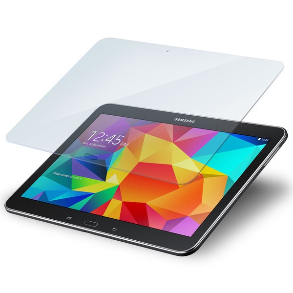 rooCASE Tempered Glass Screen Protector for Samsung Galaxy Tab 4 10.1