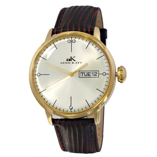 Adee Kaye Crown II Goldtone Watch Collection