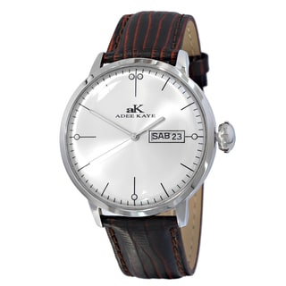Adee Kaye Crown II Silvertone Watch Collection