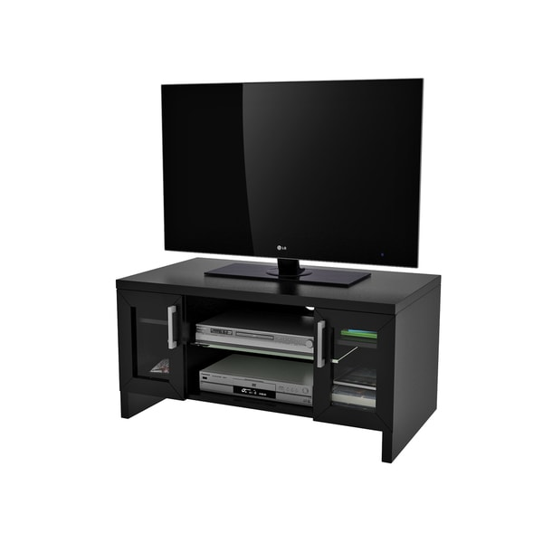 Shop Callie Black 40 Inch Tv Stand 42 Free Shipping Today