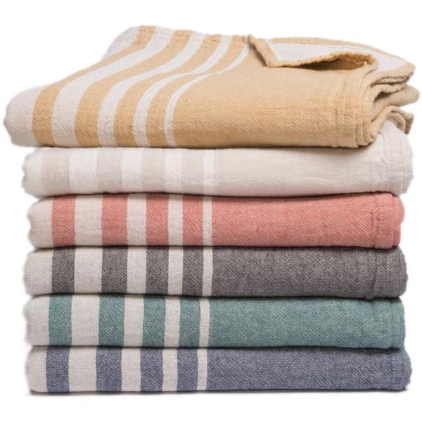Boutique Style 100 Percent Turkish Cotton Throw Blanket